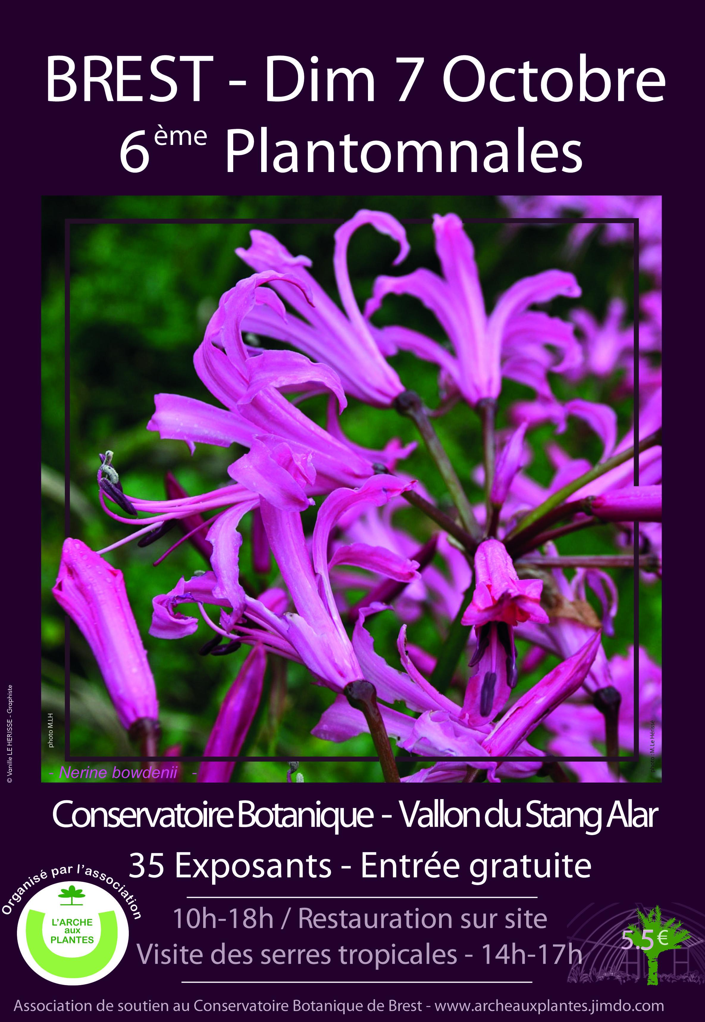 Foire aux plantes au Conservatoire Botanique de Brest